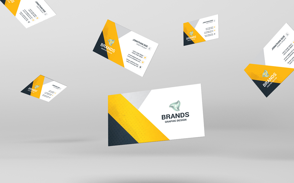 Brands Business Card Corporate Identity