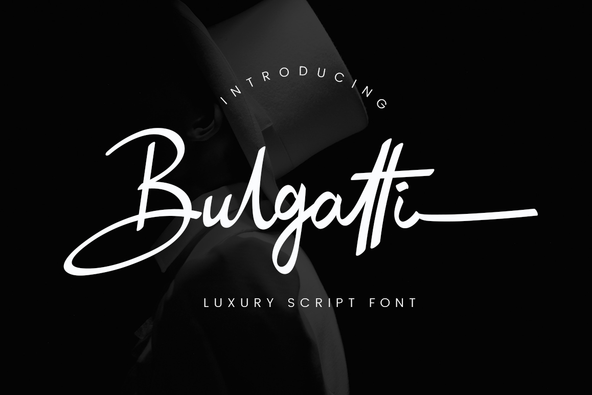Bulgatti Luxury Script Fonts