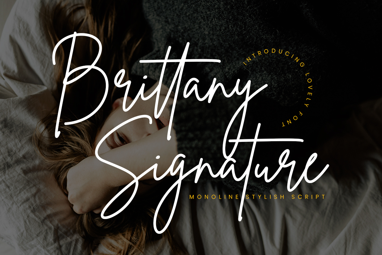 Brittany Signature Script Fonts