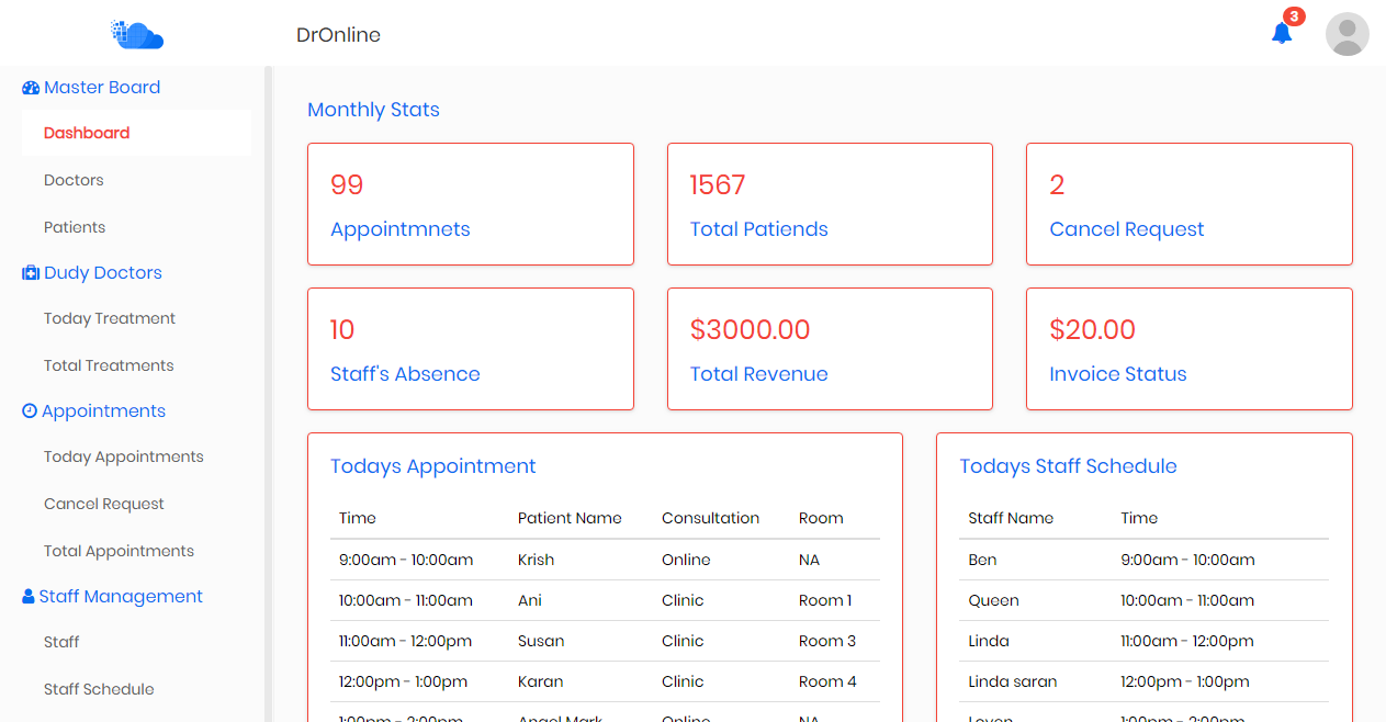 Payroll, HR Management system | Bootstrap Admin Template