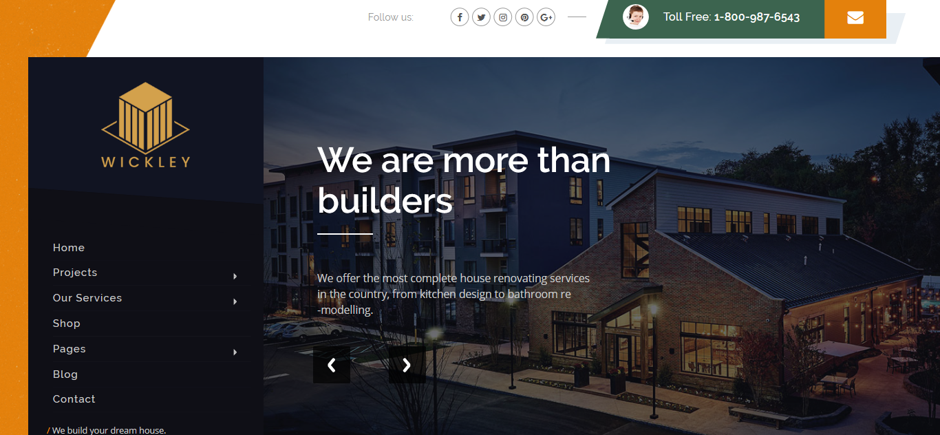 Wickley - Construction, Industry and Factory | Business Joomla Template