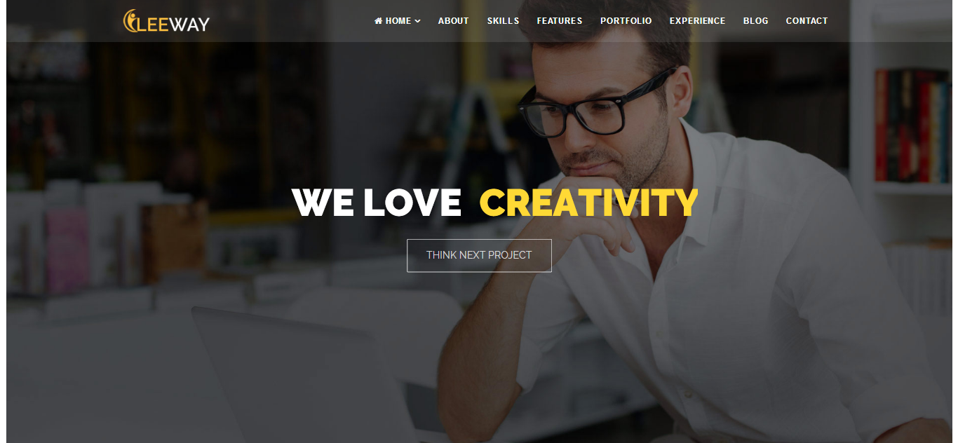 Leeway - Multipurpose One Page Joomla Template