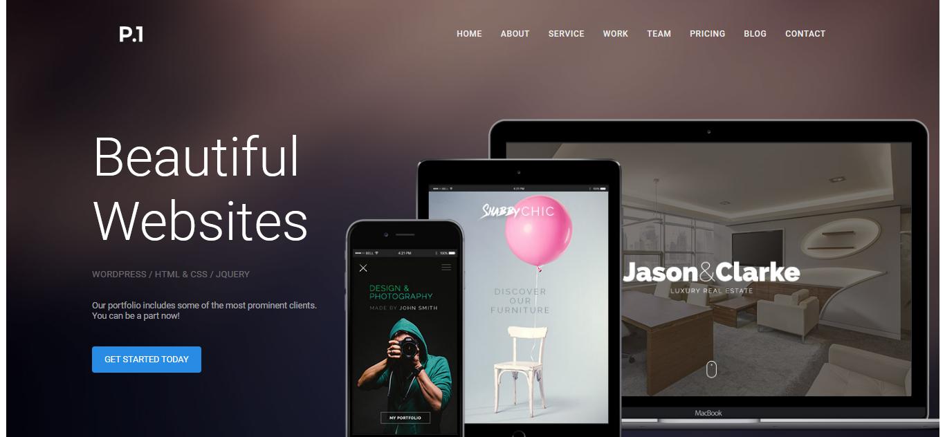 P1 - Responsive Multipurpose Business Joomla Template