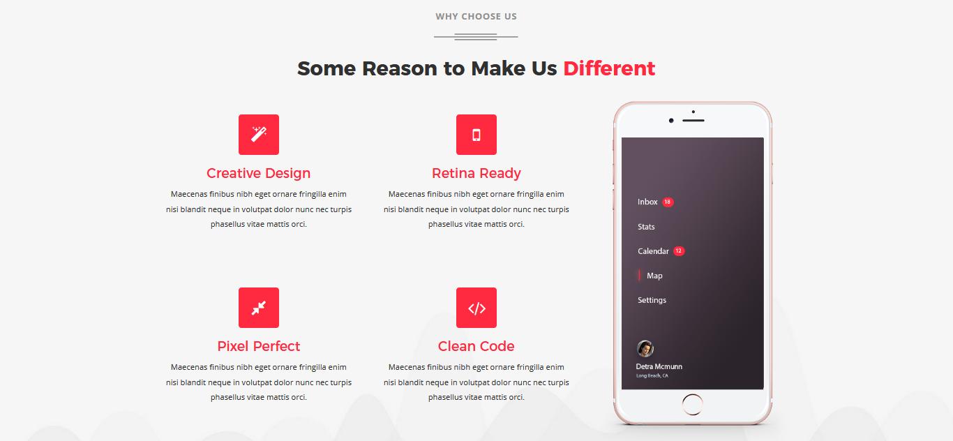 Kite - Responsive One Page Joomla Template