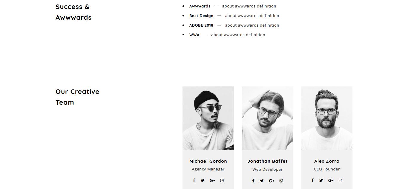 Aola - Minimalist Portfolio Joomla Template