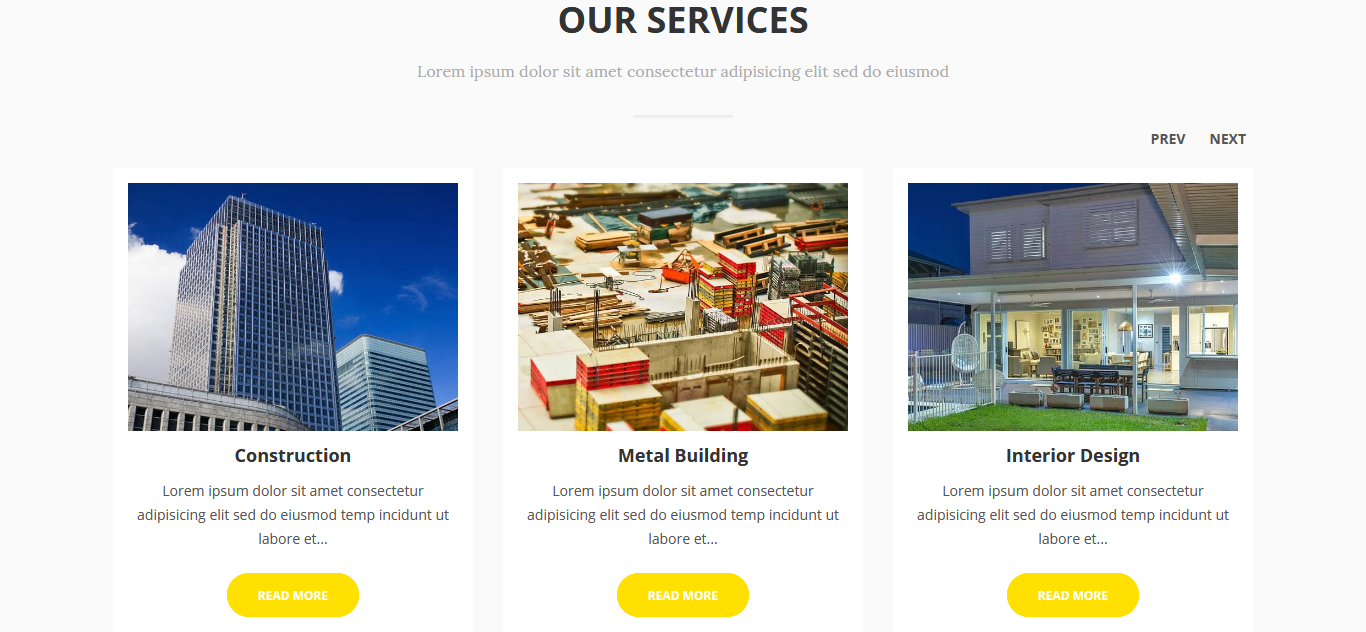 Construction & Building Business Joomla Template