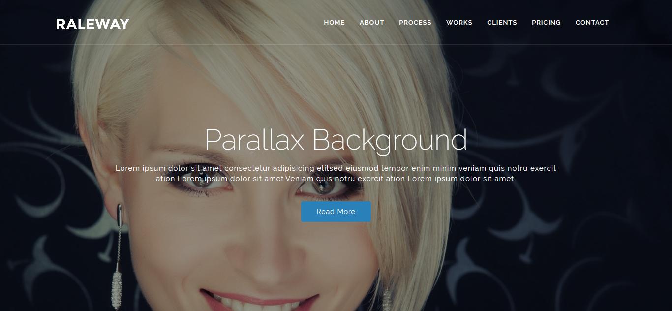 Raleway - Responsive OnePage Joomla Template