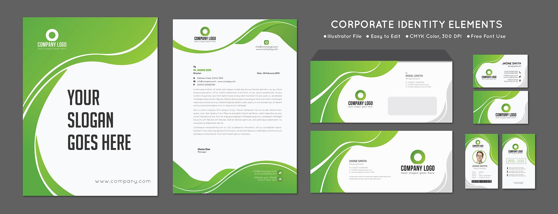 Green Brand Corporate Identity