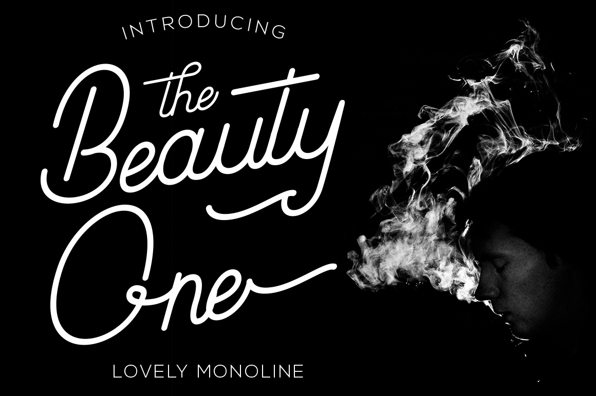 Beauty One Fonts