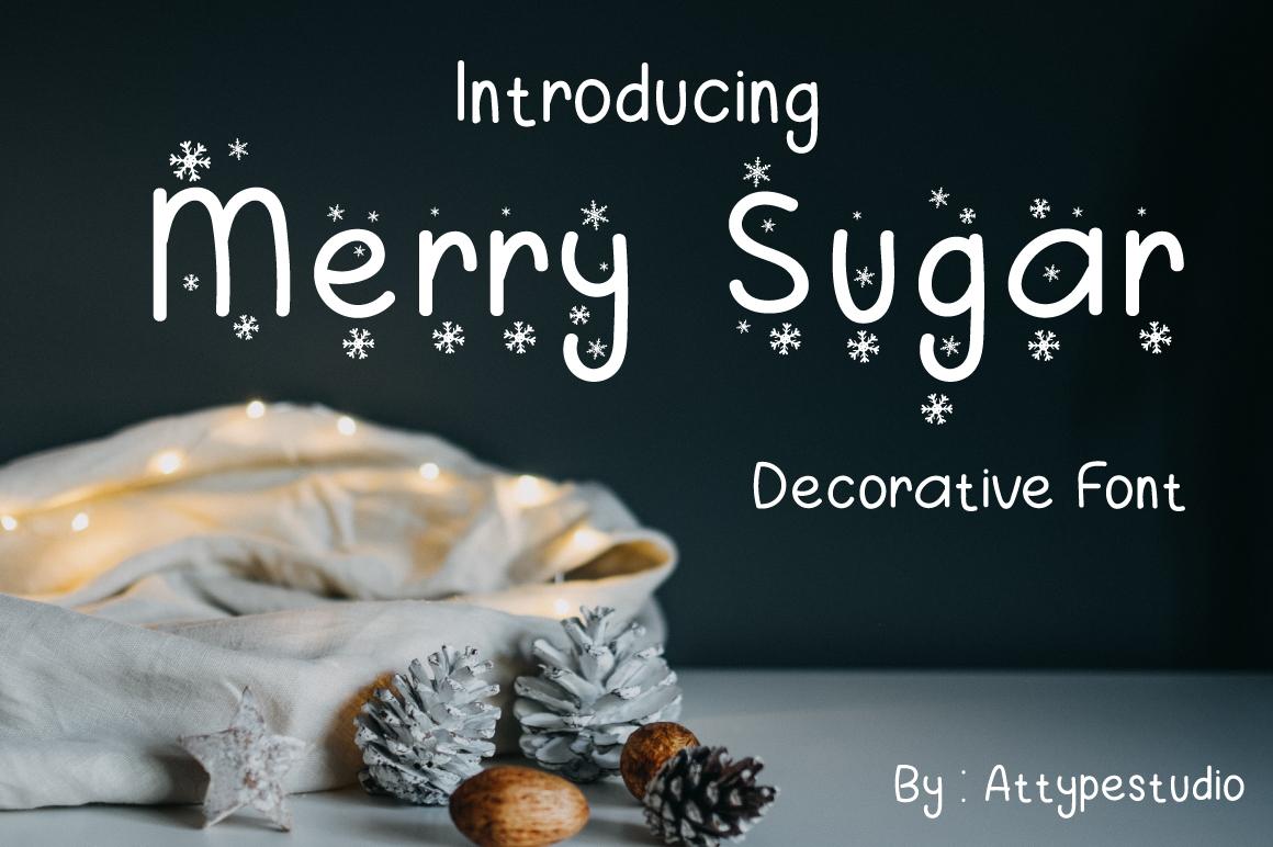Merry Sugar Fonts