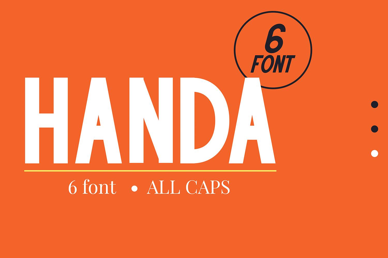 Handa Fonts