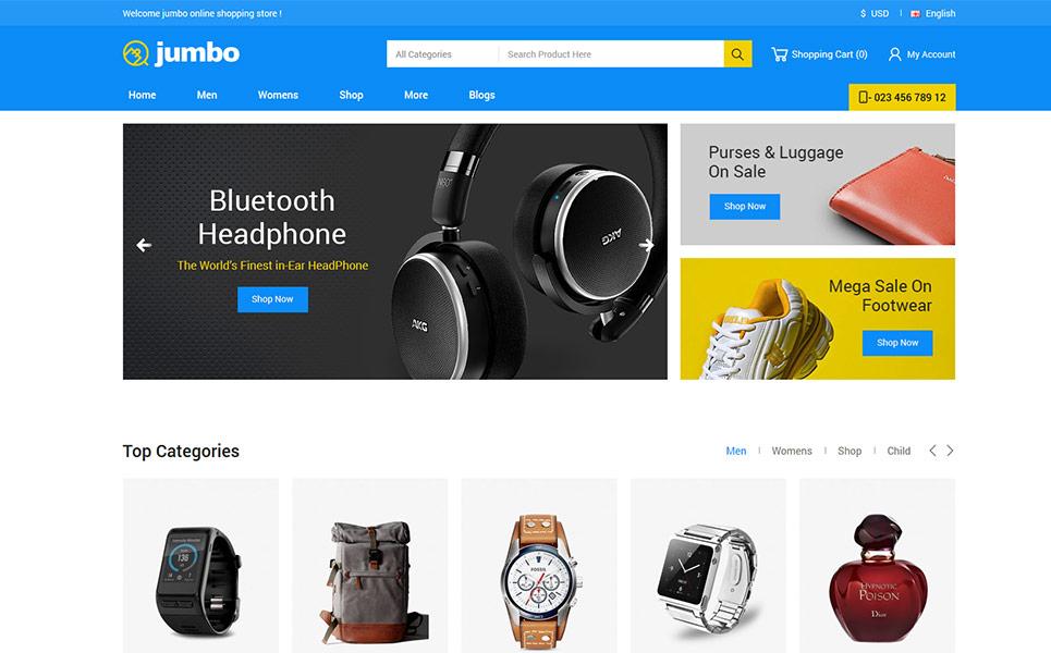 Jumbo OpenCart Template