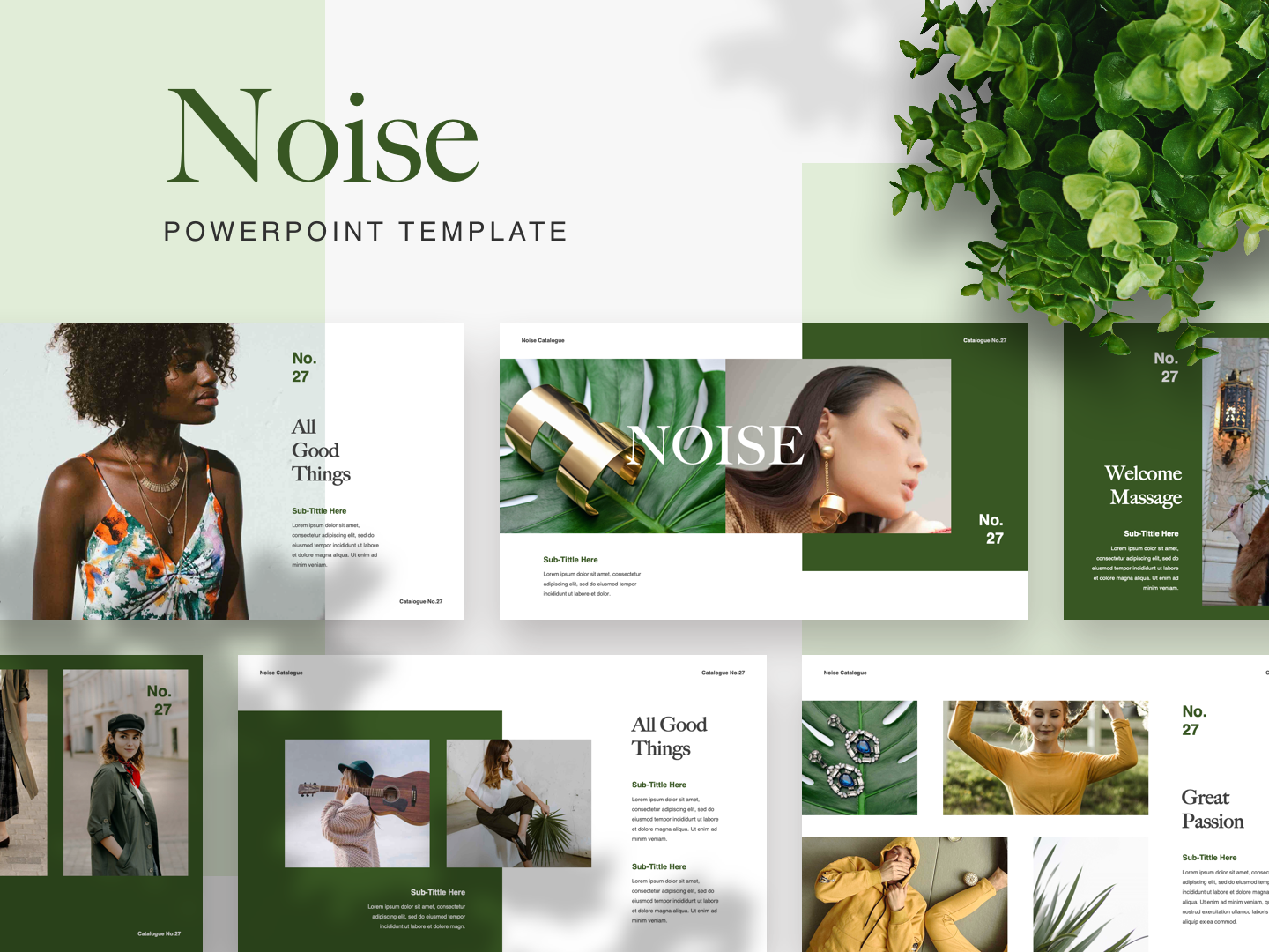 NOISE PowerPoint Template