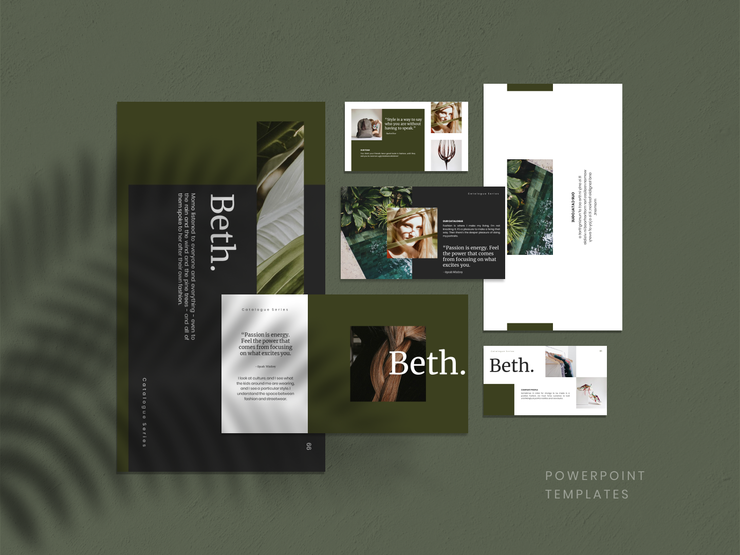 BETH PowerPoint Template