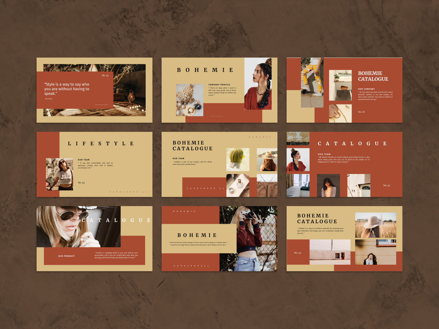 BOHEMIE PowerPoint Template