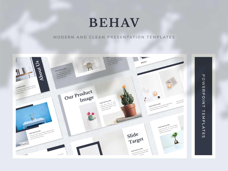 BEHAV PowerPoint Template