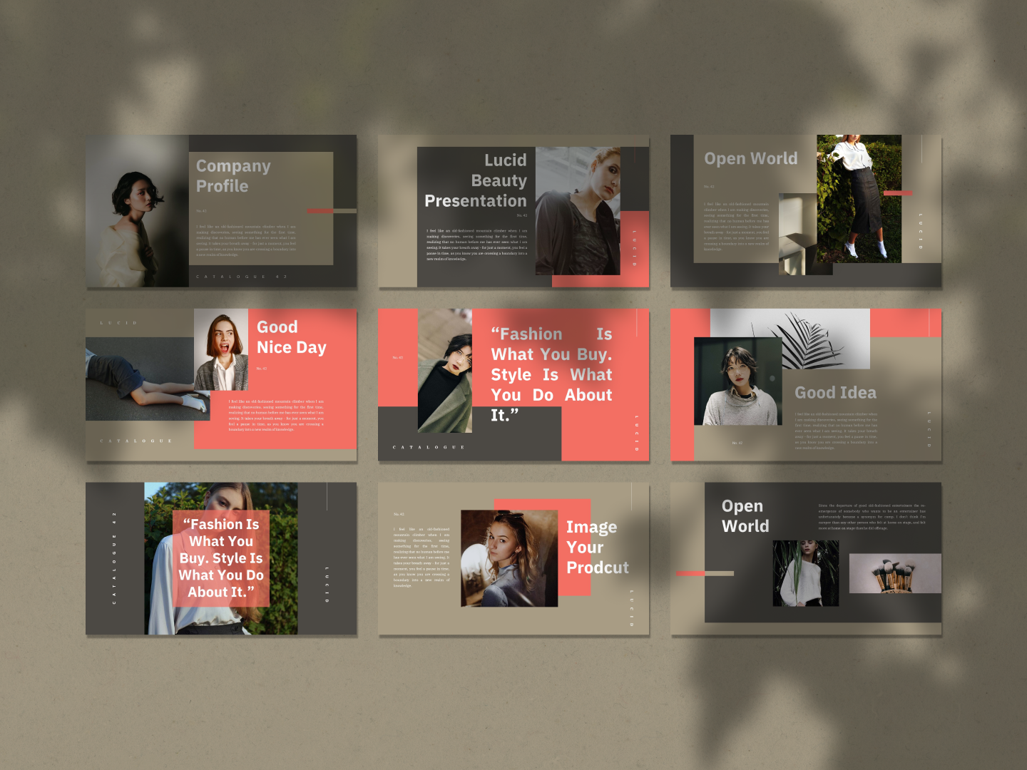 LUCID PowerPoint Template