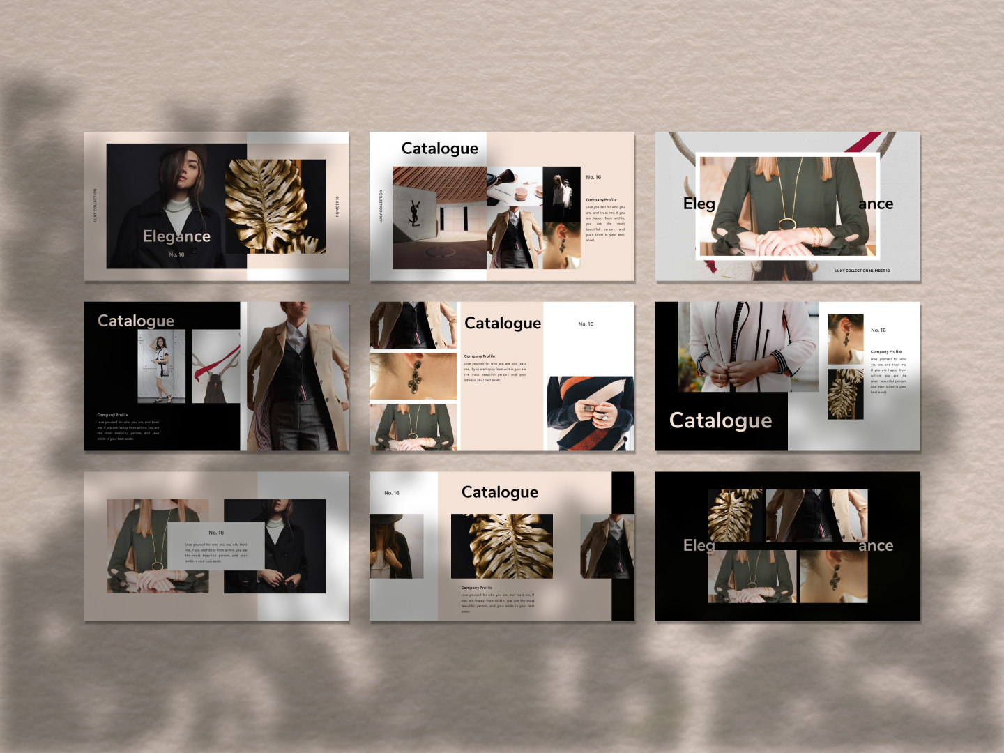 LUXY PowerPoint Template