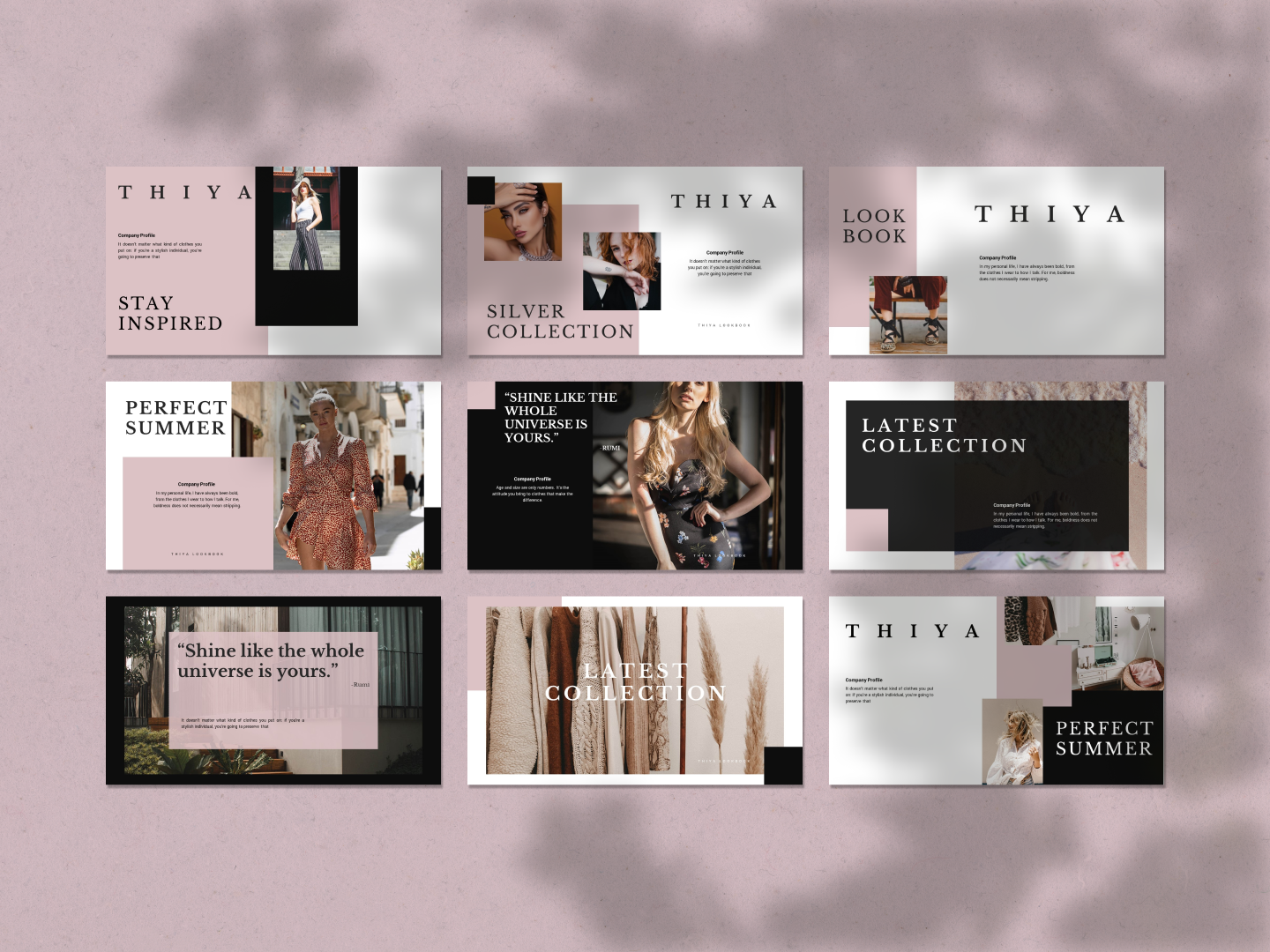 THIYA PowerPoint Template