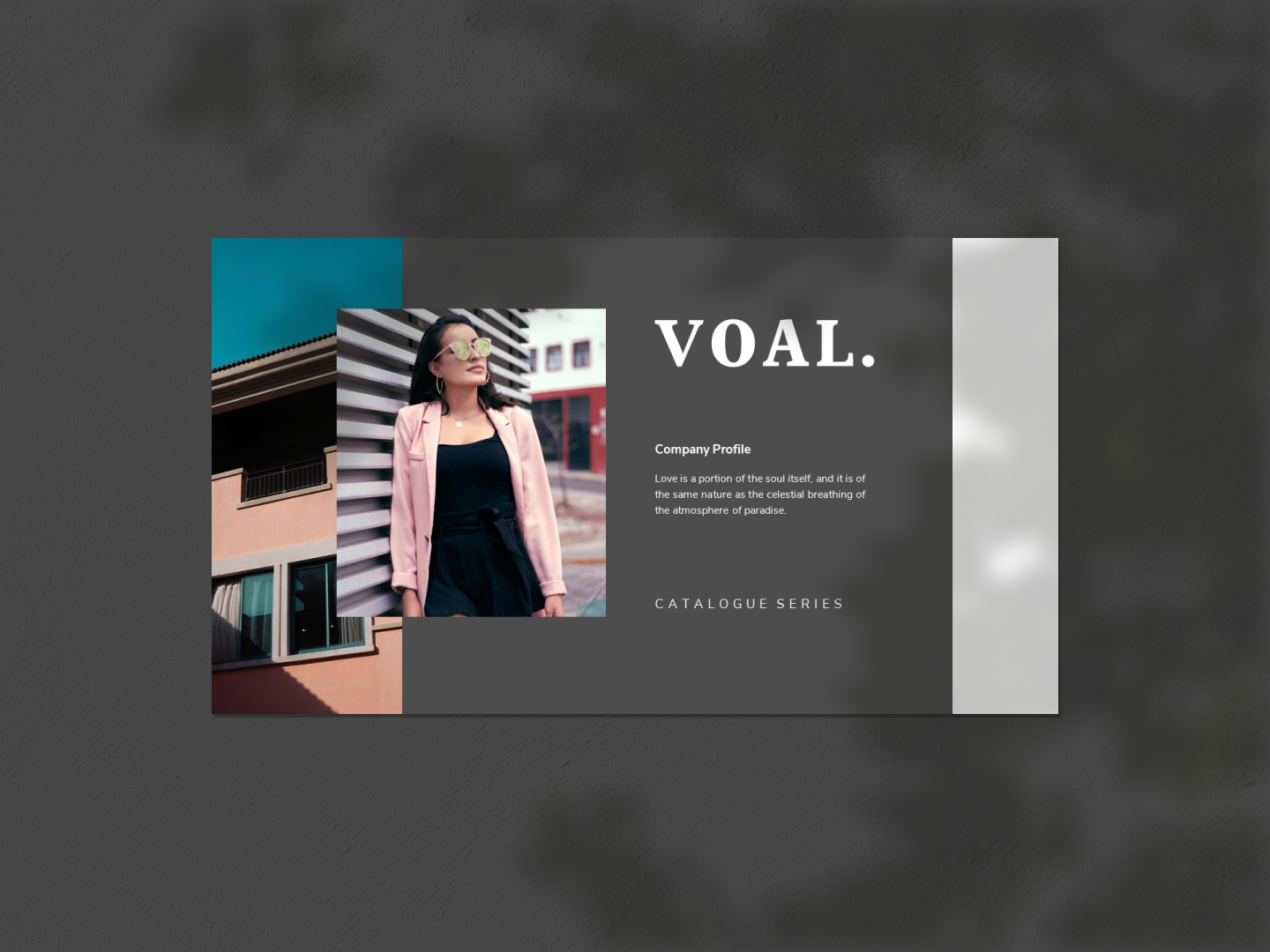 VOAL PowerPoint Template