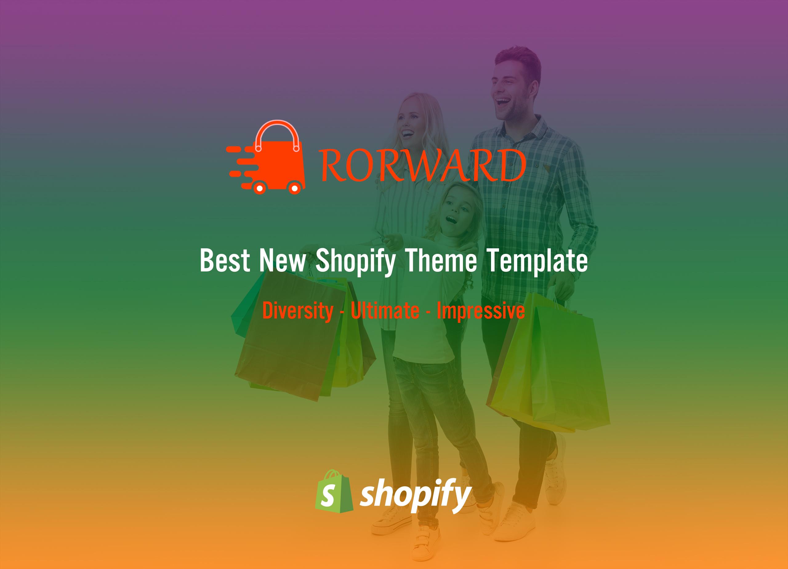 Rorward - Responisve Shopify Theme