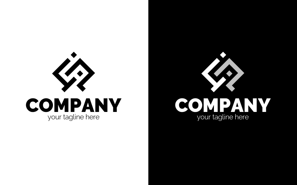 Chain of Letters Logo Template