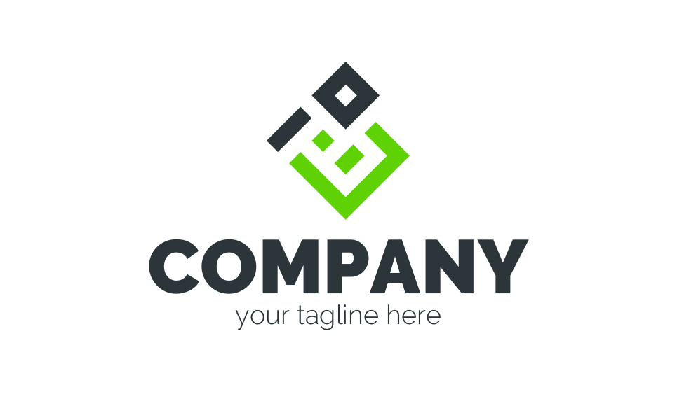 P + B Logo Template