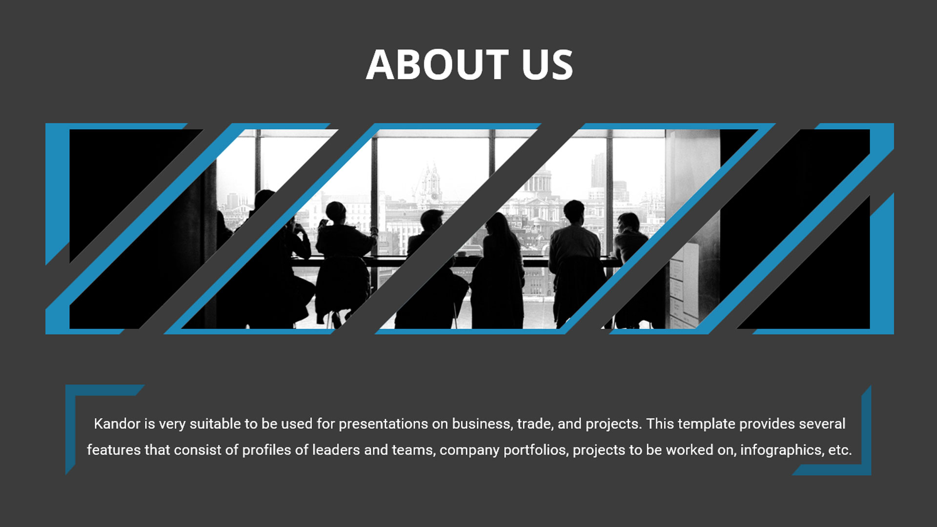Kondor - Business Modern PowerPoint Template
