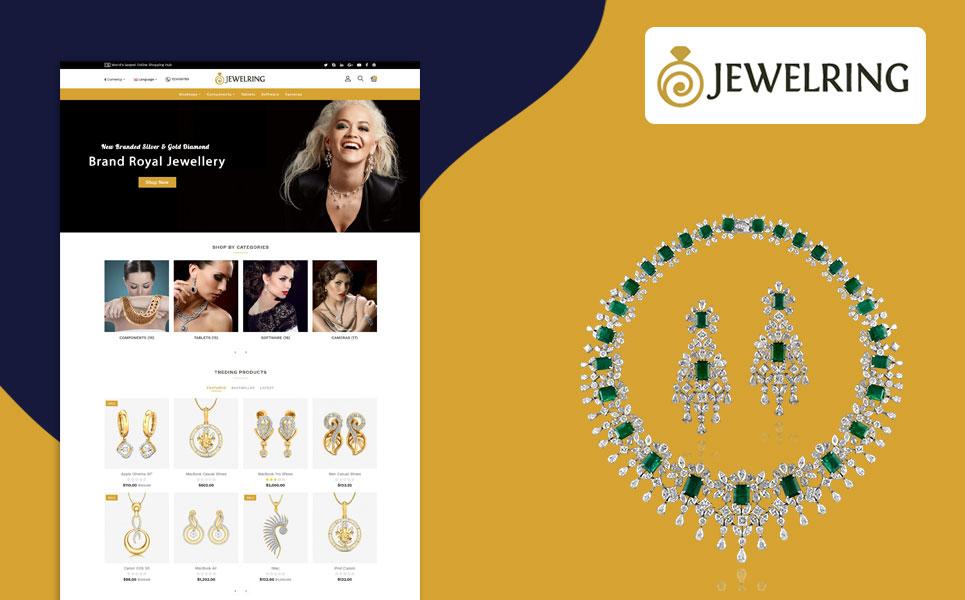 Jewelering Ornaments OpenCart Template