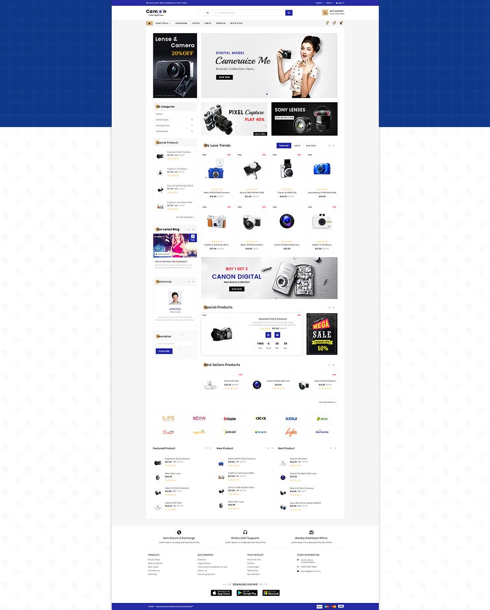 Camon - Electronic Shop PrestaShop Theme
