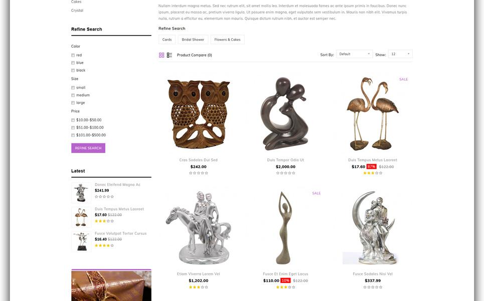 Galactics - Gift Store OpenCart Template