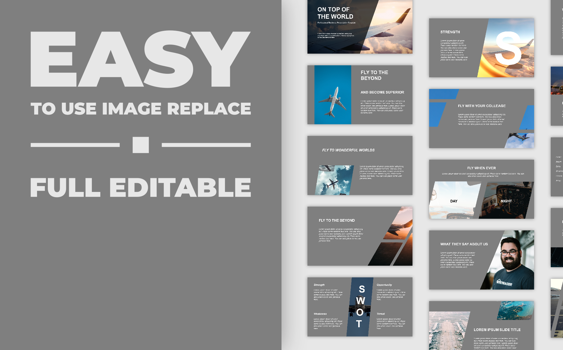 Modern Presentation PowerPoint Template