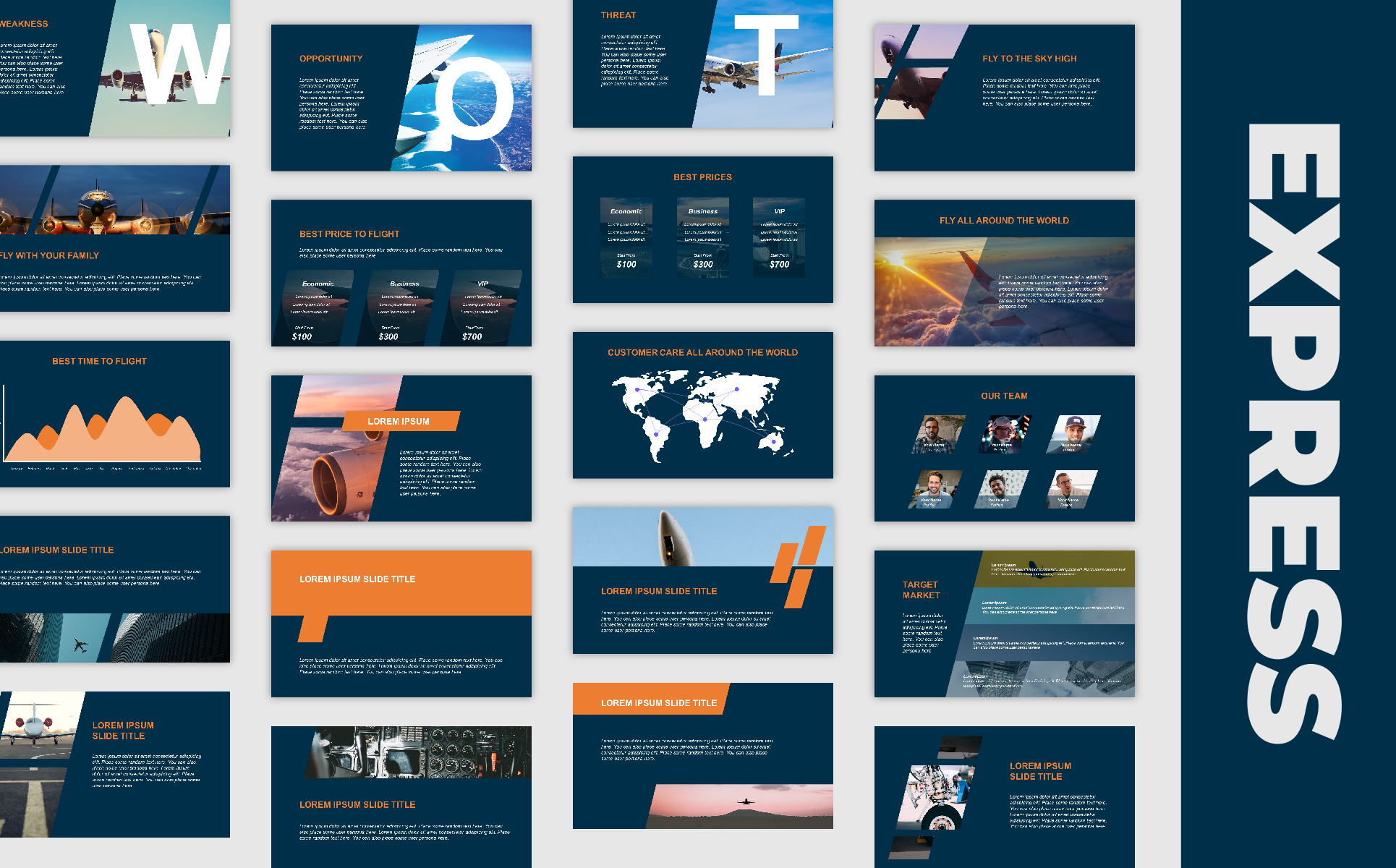 Modern Professional Business Presentation PowerPoint Template