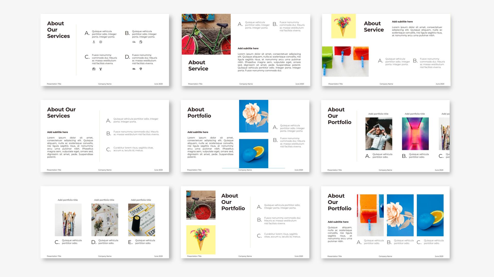 Ayu - Creative PowerPoint Template