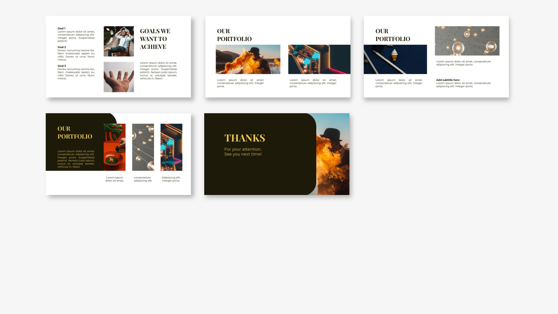 Manda - Creative PowerPoint Template