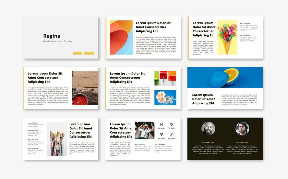 Regina - Creative PowerPoint Template