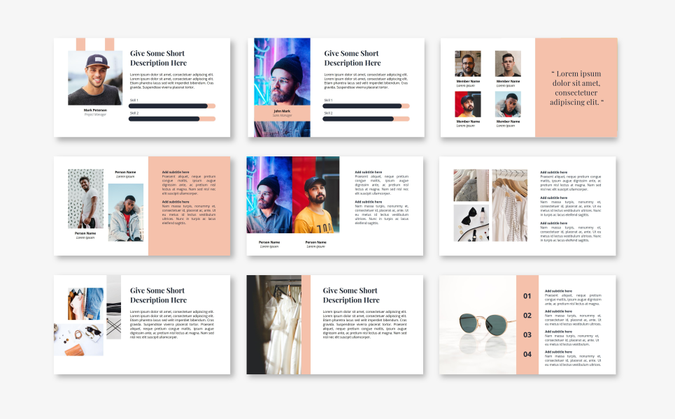 Rianty - Fashion PowerPoint Template