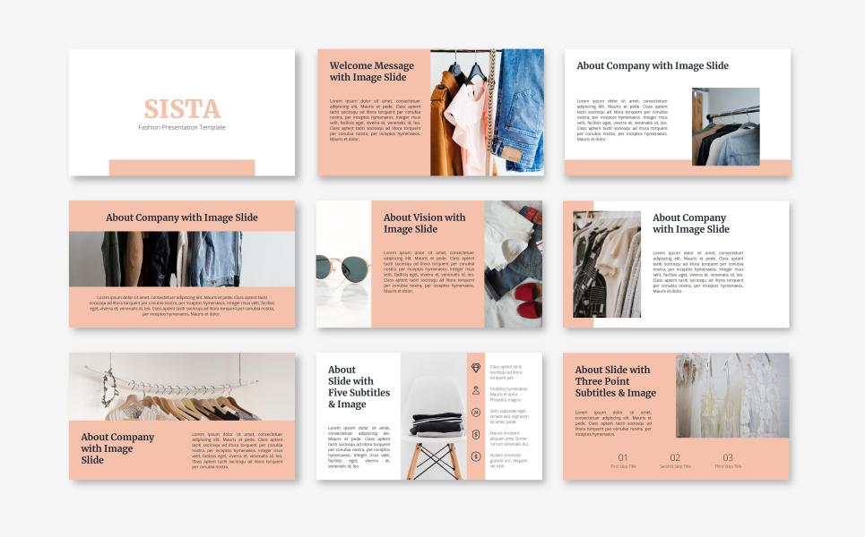 Sista - Fashion PowerPoint Template