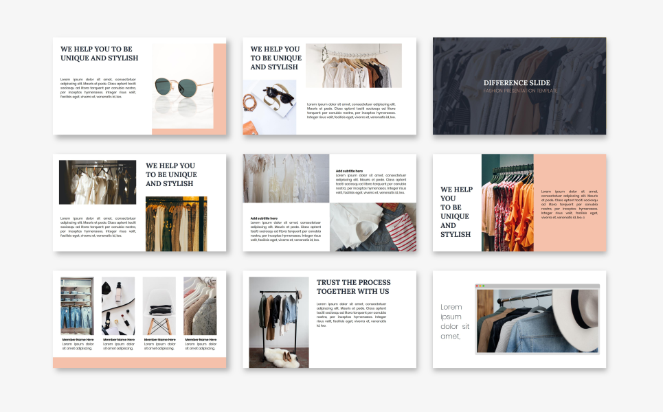 Paris - Fashion PowerPoint Template