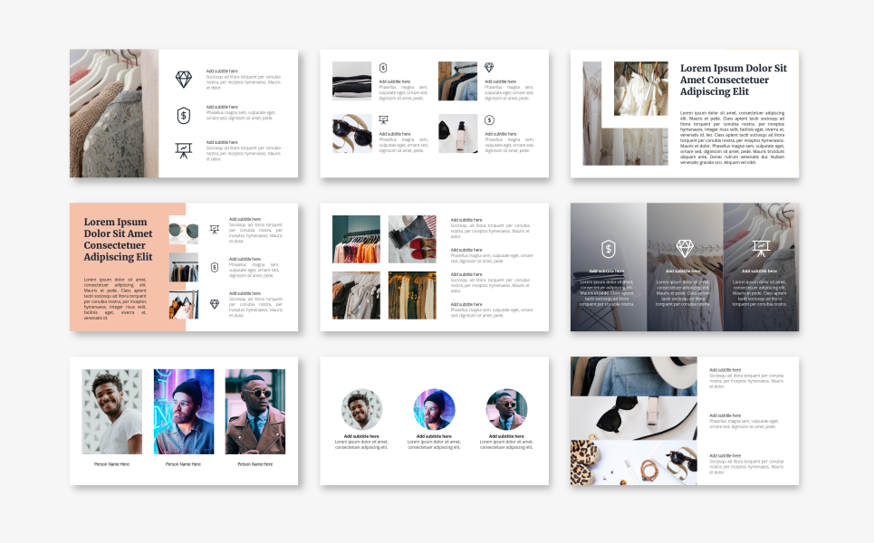 Queen - Fashion PowerPoint Template