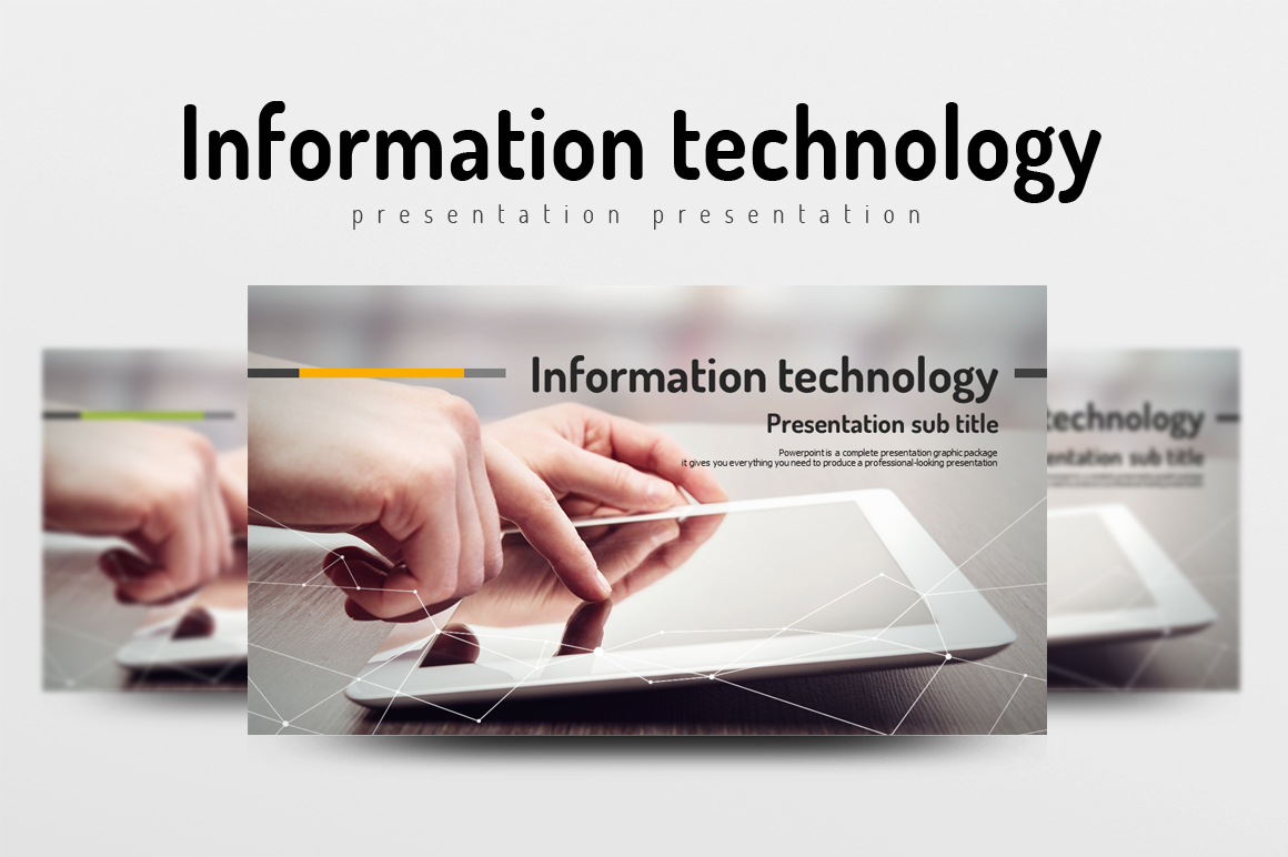 Information Technology PowerPoint Template