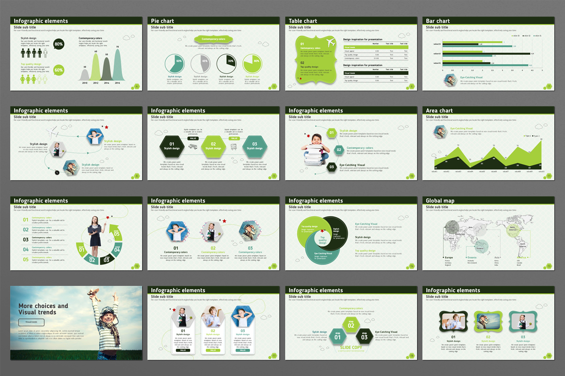 Happy Children PowerPoint Template
