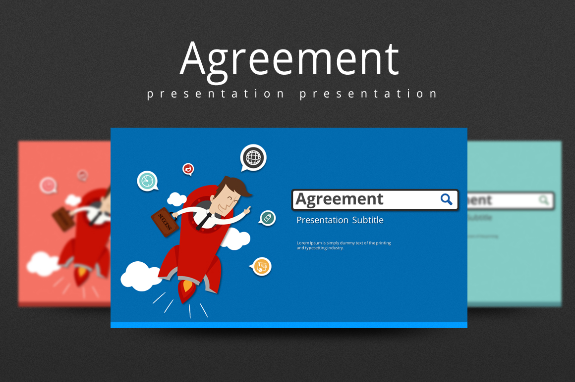 Agreement PowerPoint Template