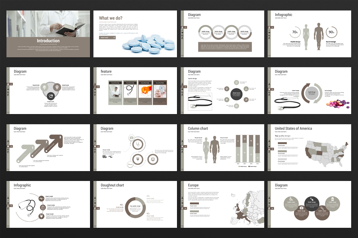 Medical care PowerPoint Template