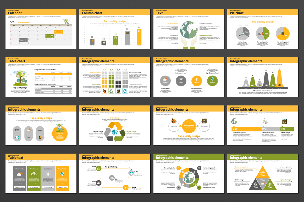 Nature Conservation PowerPoint Template