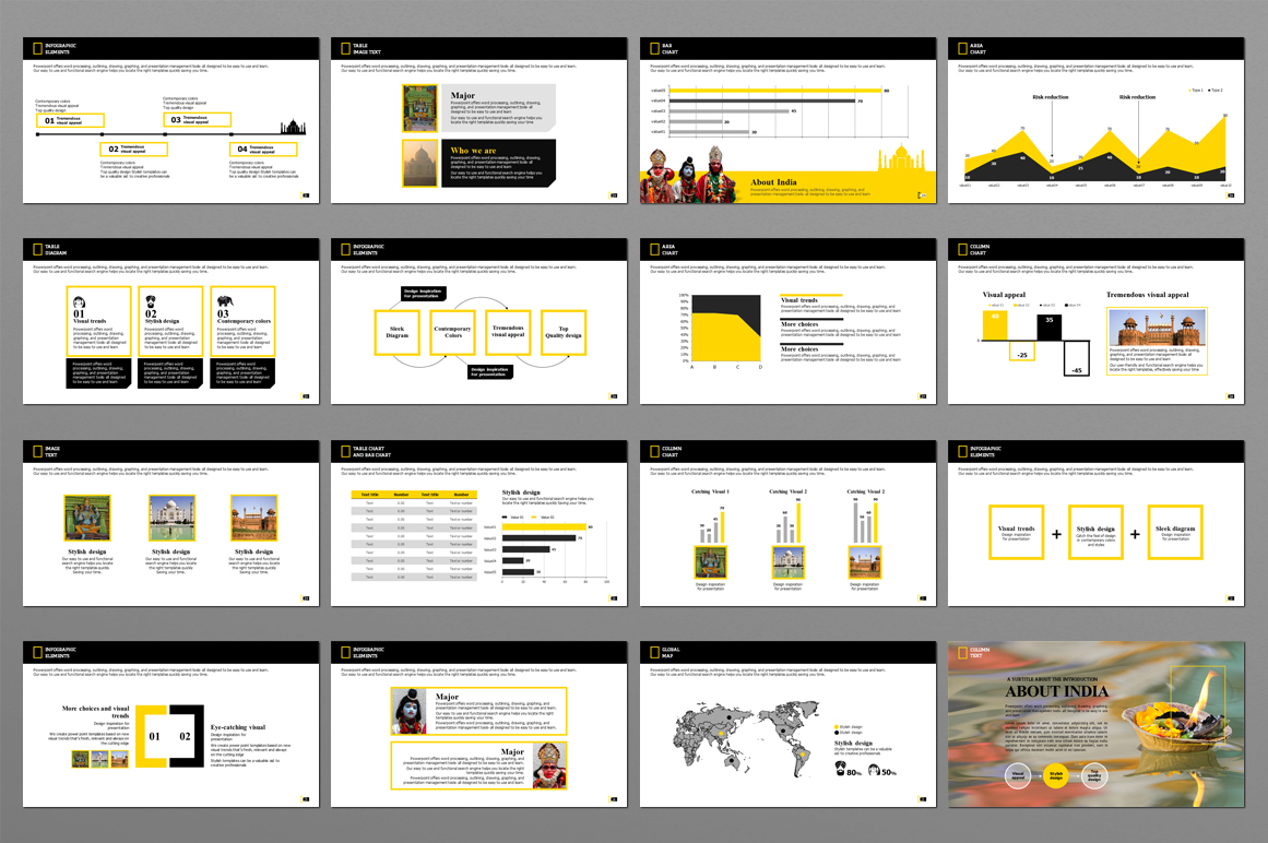 INDIA TRAVEL PowerPoint Template