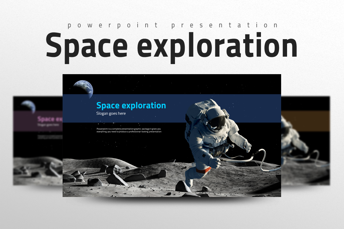 Space Exploration PowerPoint Template