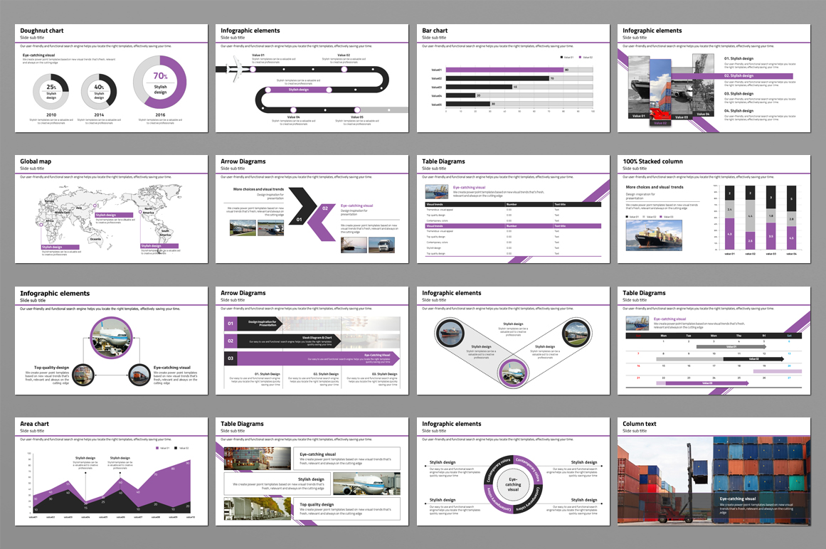World Trade PowerPoint Template