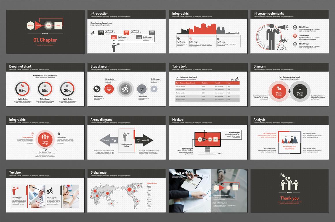 Business Man PowerPoint Template