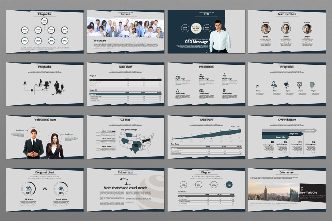 The Company Introduction PowerPoint Template